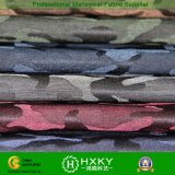 Projeto camuflar com tela tingida fio do poliéster para a forma do Outerwear