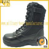 Laarzen van de Politie van de Stijl van de Prijs van de fabriek de Zwarte Hete Militaire Tactische
