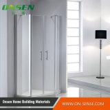 Portello di schermo Walk-in di alluminio dell'acquazzone del portello per la stanza da bagno