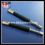 Pin штепсельной вилки латуни/меди поставкы электрический твердый (HS-BS-0054)