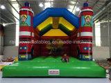 Gorila inflable de las ventas del castillo animoso inflable comercial del bebé