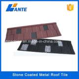 2016年の熱販売の標準的なタイプ石の上塗を施してある金属の屋根瓦