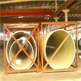 Tubo de la fibra de vidrio del graduado para el agua de aguas residuales