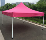 3X3m rosafarbene im Freienstahl knallen oben Gazebo-faltendes Zelt