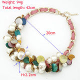 Ювелирные изделия ожерелья ворота чокеровщика краткости перлы раковины Jewellry способа