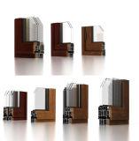 Finestra di legno di alluminio di Chadding di girata e di inclinazione per il maltempo