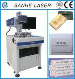 Máquina de gravura do laser do CO2 do empacotamento de alimento para a mobília, anunciando sinais