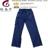 Dame-moderne bequeme blaue Hosen