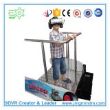 Parco di divertimenti Vr 9d Simulator Standing Vibration 9d Vr Cinema Game Simulator Roller Coast Machine