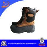 Ботинки снежка людей, верхушка Nubuck кожаный, ботинки зимы для людей