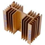 Dissipatore di calore di alluminio/di alluminio personalizzato con ISO9001 diplomato