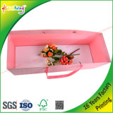 주문 인쇄 선물은 발렌타인의 꽃을%s 수송용 포장 상자 그리고 부대를 놓는다