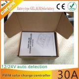 SolarCharge Controller 30A 12V/24V PWM mit CER RoHS Certificates