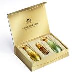 Cadre de papier de cadeau de parfum de mode, base et cadre de produits de beauté de couvercle estampés par coutume de luxe