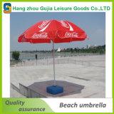 Напольный зонтик пляжа сада с логосом печати