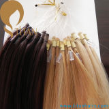 O dobro do preço de grosso afoga a micro extensão do cabelo humano do anel