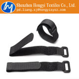 Crochet et boucle réutilisables de relations étroites de fil de Velcro