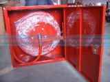 Шкаф одиночной двери стальной с вьюрком шланга