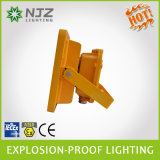 AtexのAnti-Explosionまたは耐圧防爆LEDの照明器具の前の証拠の照明