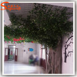 Árvore de Banyan artificial da decoração interna do preço de fábrica