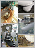 Zapato impermeable que alinea la máquina del lacre del aire caliente