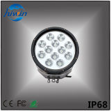 高品質8.7インチの円形のAutomative LEDのドライビング・ライトの高い内腔120Wの大きい国車ランプ