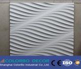 Painéis decorativos da onda ao ar livre da parede