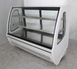 Réfrigérateur américain de réfrigérateur d'étalage de gâteau de couche du type trois avec du ce, CB