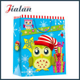 工場価格の安い卸売別のデザイン210gアイボリーの紙袋