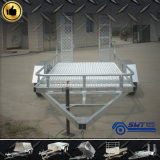 Aanhangwagen van de Vrachtwagen van het Vervoer van de Auto van het Staal van China de Materiële die in China wordt gemaakt
