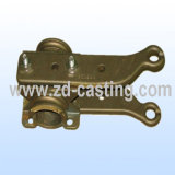 OEM Investment Steel Casting para Railway Electric Power Fittings