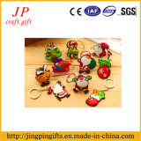 선전용 PVC 페인트 열쇠 고리, 아버지 크리스마스 열쇠 고리 (JK-001)