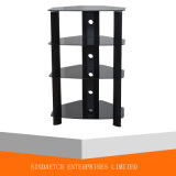 Glas Stand voor Audio / Video Component, HiFi Rack AV Stand