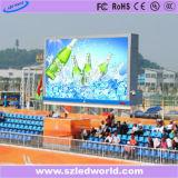 Pantalla de visualización al aire libre / cubierta de alto brillo de vídeo LED para hacer publicidad (P6, P8, P10, P16)