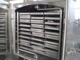 Secador de bandeja del vacío del vehículo y de la fruta con vapor