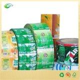 Escrituras de la etiqueta baratas del papel de imprenta en China (CKT-LA-387)
