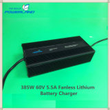 385W 60V 5.5A Fanless Lithium Battery Charger