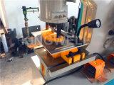 Máquina hidráulica da ferramenta de corte do Ironworker de Q35y, tesoura hidráulica do ferro de ângulo (Q35Y-40)
