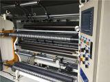 Использовано пластичной бумажной автоматической высокоскоростной разрезая машины
