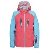 2015 3 capas de la chaqueta impermeable de Softshell de las mujeres