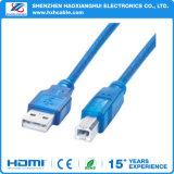 Großhandels-USB zum Drucker-Kabel-Mann zum weiblichen Drucker-Kabel