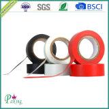黒い接着剤PVCワイヤーのWrapingのための電気絶縁体テープ