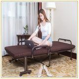 ホテルの余分ベッドの折るベッドか折り畳み式移動ベッドの工場直売