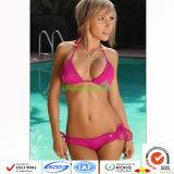 De Hete Bikini van Halter van de Vrouwen van de Kleur van het suikergoed/Sexy Bikini