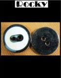 Weißes Öl-Drucken-Tasten-Messingfaltenbildung