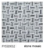 Mosaico Mezclado de Acero de la Piedra del Material de Construcción de la Naturaleza de Strainless para el Azulejo de Suelo (FYSM078)
