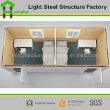 Fabrikant de Met twee slaapkamers van het Huis van de Container van de Structuur van het staal/Tijdelijk Bureau