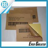 Kundenspezifisches Firmenzeichen gedruckter kleiner Plastikkennsatz und Marken für Schmucksachen