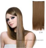 eine Klipp-Haar-lange gerades Haar-Extension des Chip-fünf