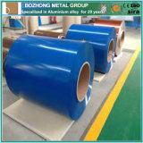 Bobina de alumínio revestida de cor quente com cobertura quente